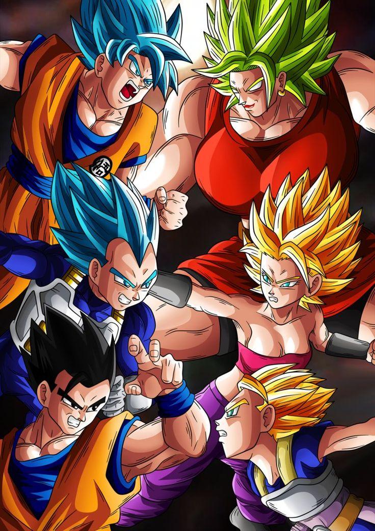 Clash of the Saiyans by Goku-Kakarot