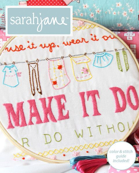 Use it up, wear it out, make it do or go without - I LOVE THIS!