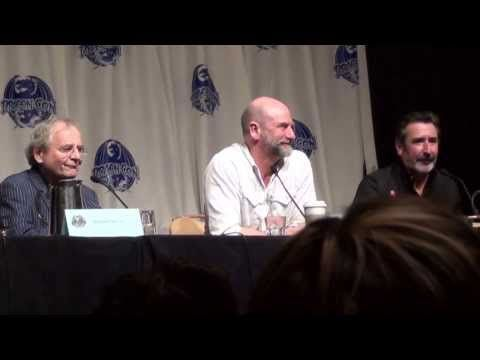 Dragon*Con Hobbit Panel 2 Part 4..Richard nearly died in the River Scene.
