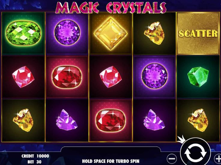 Lasst uns drehen online Spielautomat Magic Crystals - http://spielautomaten7.com/magic-crystals/