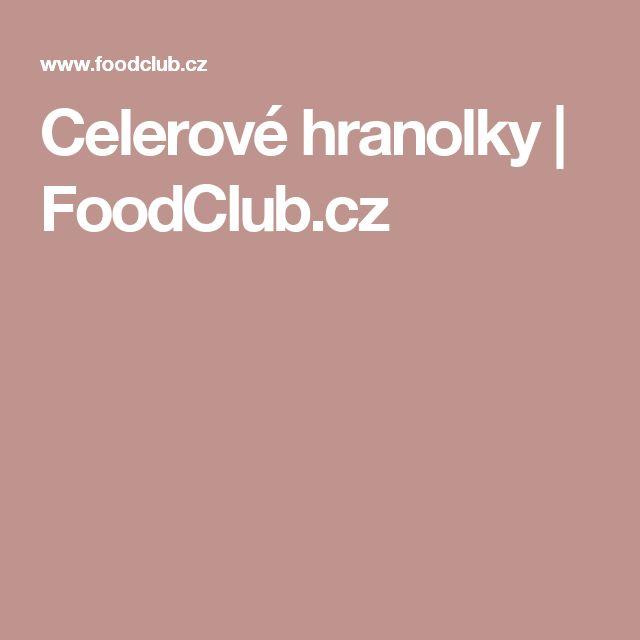 Celerové hranolky | FoodClub.cz