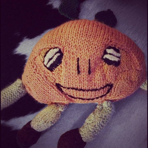 Day 10: #Childhood (my childhood toy; Ollie Orange) #janphotoaday
