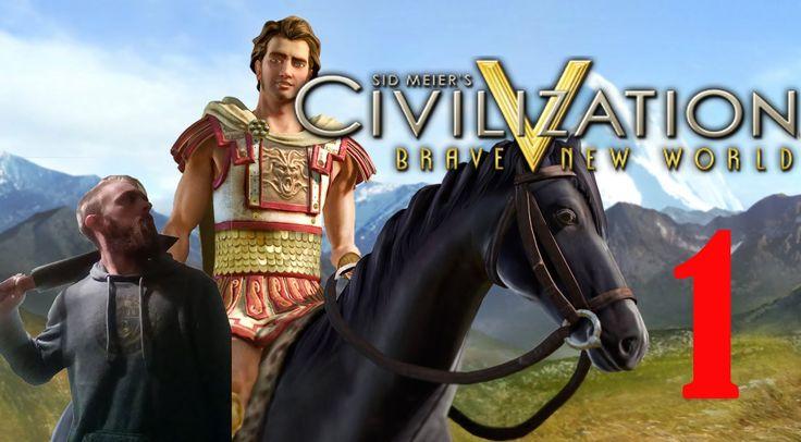 Civilization 5 Gameplay: Brave New World Let's Play: Greek Beginnings