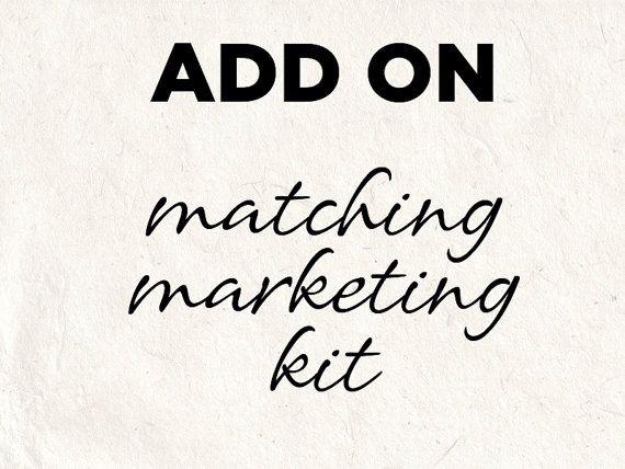 ADD ON - marketing psd template kit - editable psd photoshop files