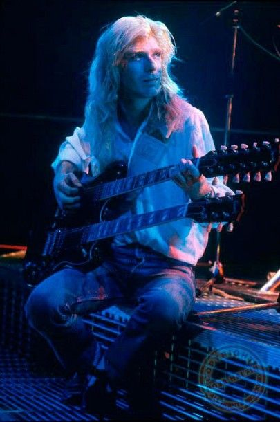 Steve Def Leppard | photo-Steve-Clark-guitarist-Hysteria-Def-Leppard
