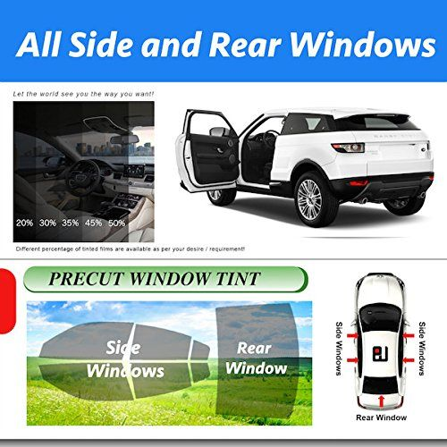 Precut Toyota FJ Cruiser All Side and Rear Windows Tint Model 2007 2008 2009 2010 2011 2012 2013 2014 -- Details can be found by clicking on the image.