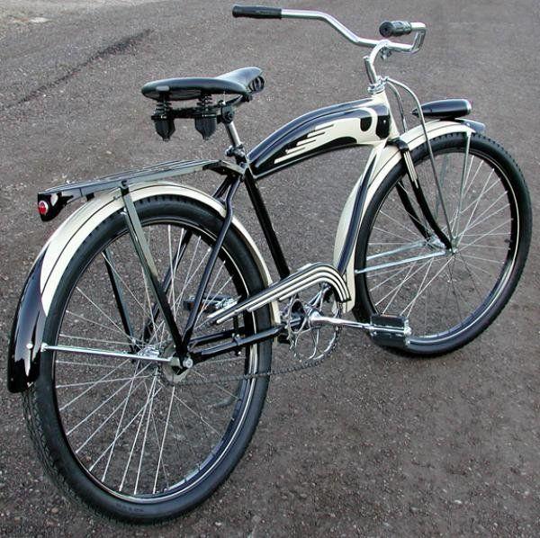 post war vintage schwinn bike | 1940 Our Own Hardware Schwinn DX Prewar Ballooner Tank Bike