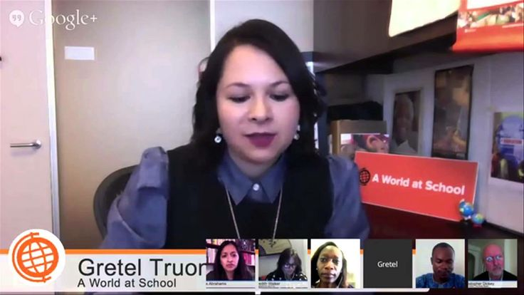 Girl Rising had the opportunity to participate in a Google Hangout with Gretel Truong, the senior project manager at A World At School with a special focus in social media and digital communications. Here she talks about the impact of social media on the Nigerian school girls crisis.