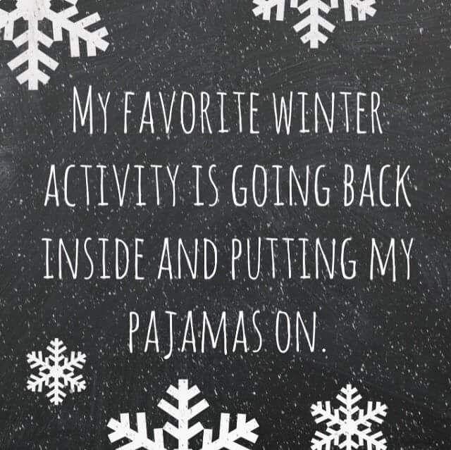 Winter activity