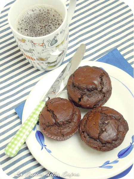 Choco Muffinsvegani!   #vegan