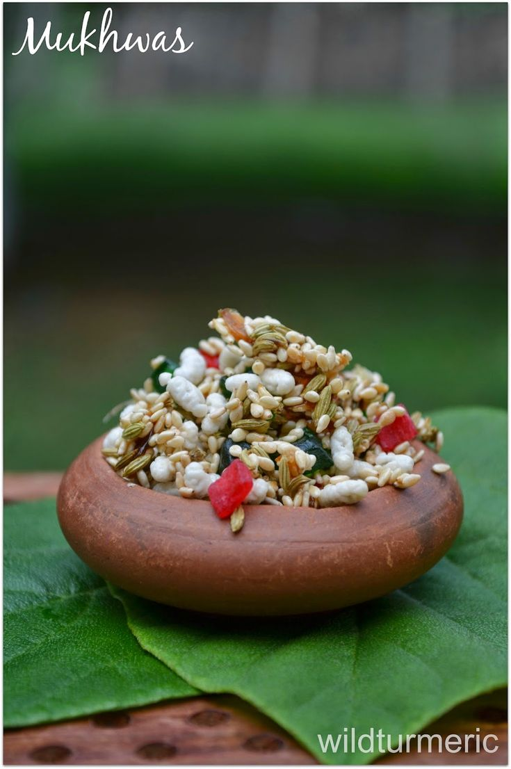 A homemade Indian mouth freshener recipe that aids in digestion, gets rid of mouth odor, is easy to make and tastes delicious...