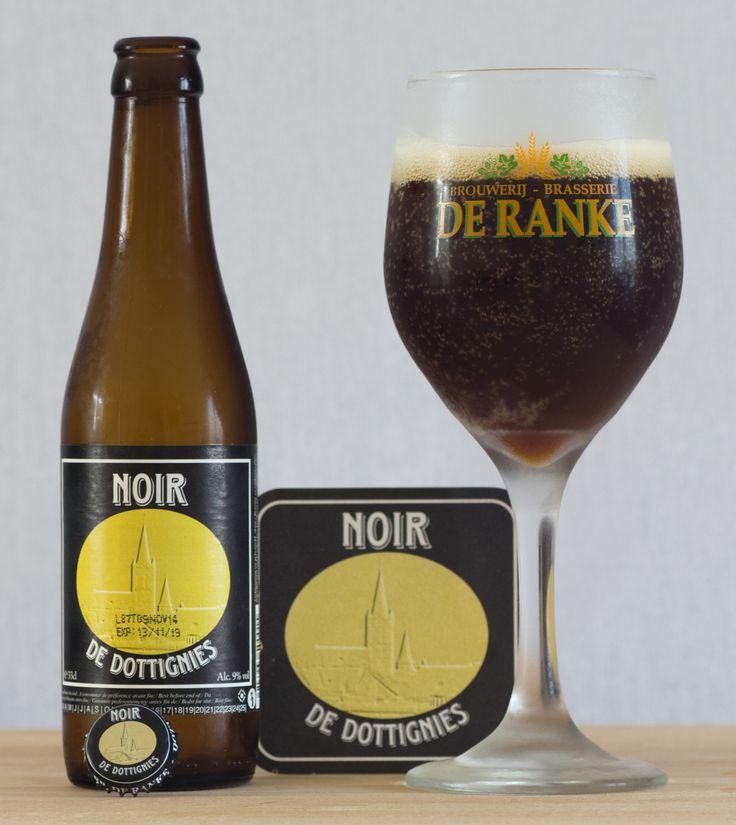 Noir De Dottignies - Noir De Dottignies (brasserie De Ranke - Belgique)