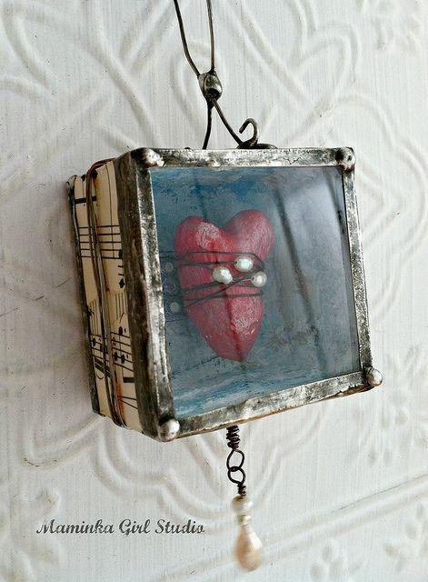Music from the Heart Assemblage   Flickr - maminkagirl