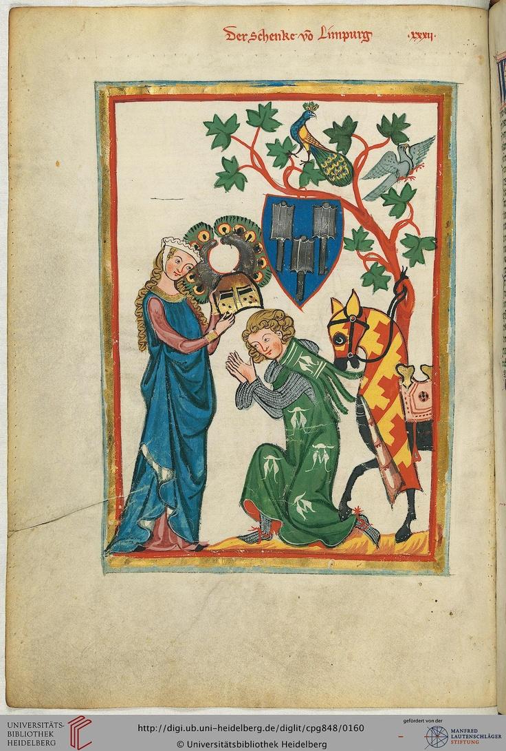 Die Schenken von Limpurg, deren Burg bei Schwäbisch Hall am Kocher lag, bekleideten unter den letzten Staufen das Amt des Reichsschenken. Der Sänger könnte entweder Walther I. (1230 bis etwa 1249/52 bezeugt) sein oder einer seiner beiden Söhne Walther II. (1251/53-1282 bezeugt) und Konrad I. (1256 bis etwas 1280 bezeugt).