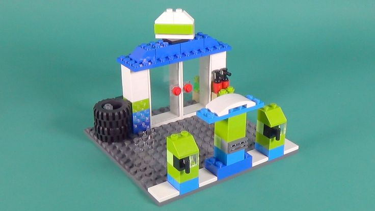 """Lego Petrol Station Building Instructions - Lego Classic 10697 """"How To"""""""