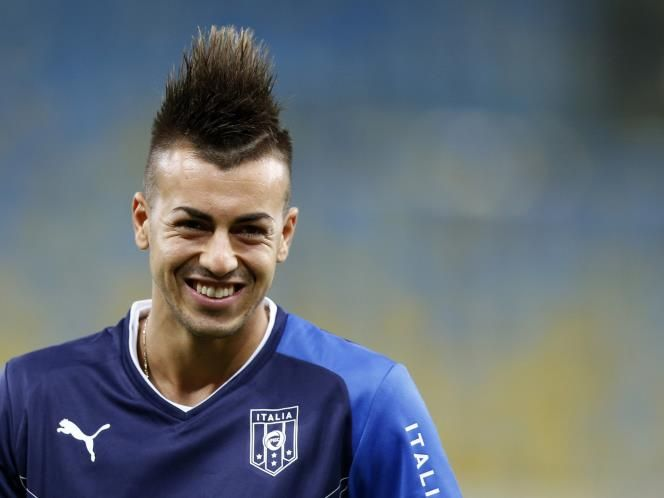 World Cup 2014 El Shaarawy Hairstyles