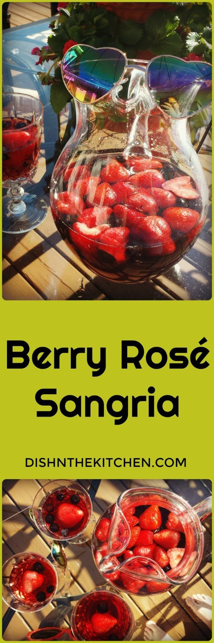 Jun 28, 2020 – Berry Rosé Sangria is sure to become your favourite Summer Patio sipper. Sweet, but not too sweet and ful…