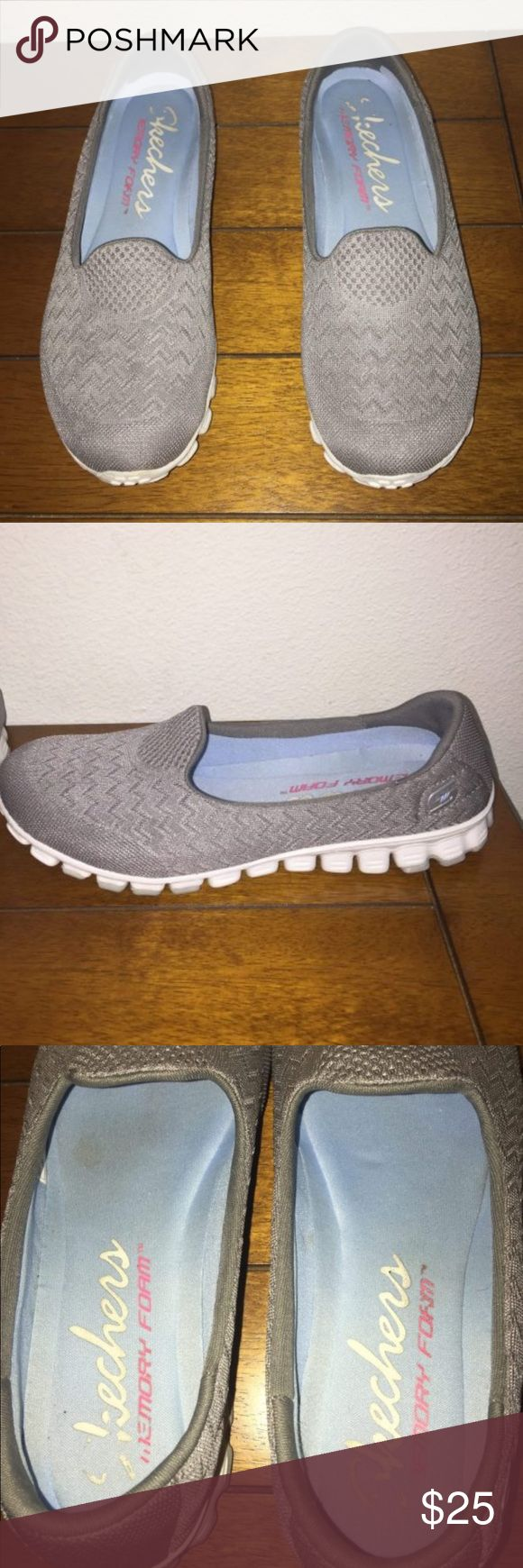 Skechers Shoes These have been worn. It no signs of wear. Excellent condition! Skechers Shoes Flats & Loafers