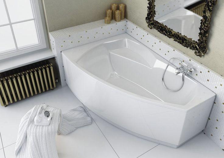 Ассиметричные ванны — нестандартное решение в интерьере  Ассиметричные акриловые #ванны — настоящий подарок для тех, кто устал от традиционных прямоугольных форм и находится в поиске оригинальных способов оформления ванной комнаты.   Стильные, эргономичные и функциональные модели позволят по-новому взглянуть на привычное пространство, подарив своему счастливому обладателю множество приятных минут, проведенных в расслабленном «погруженном» состоянии. #санузел #плитка #сантехника