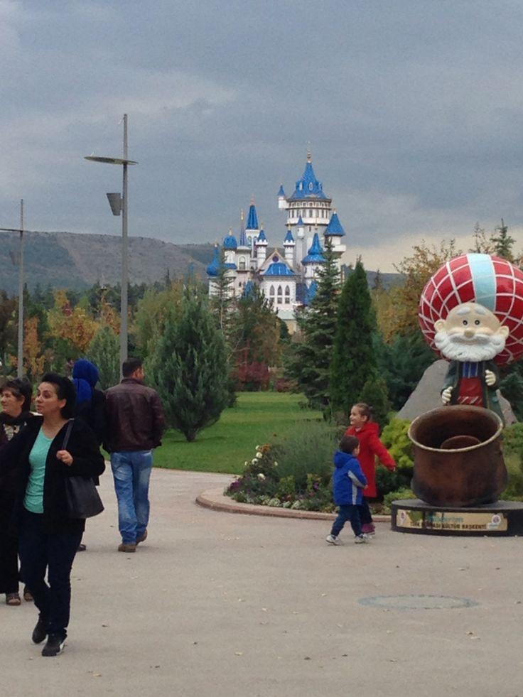 Sazova Cultral Park, Eskisehir Turkey