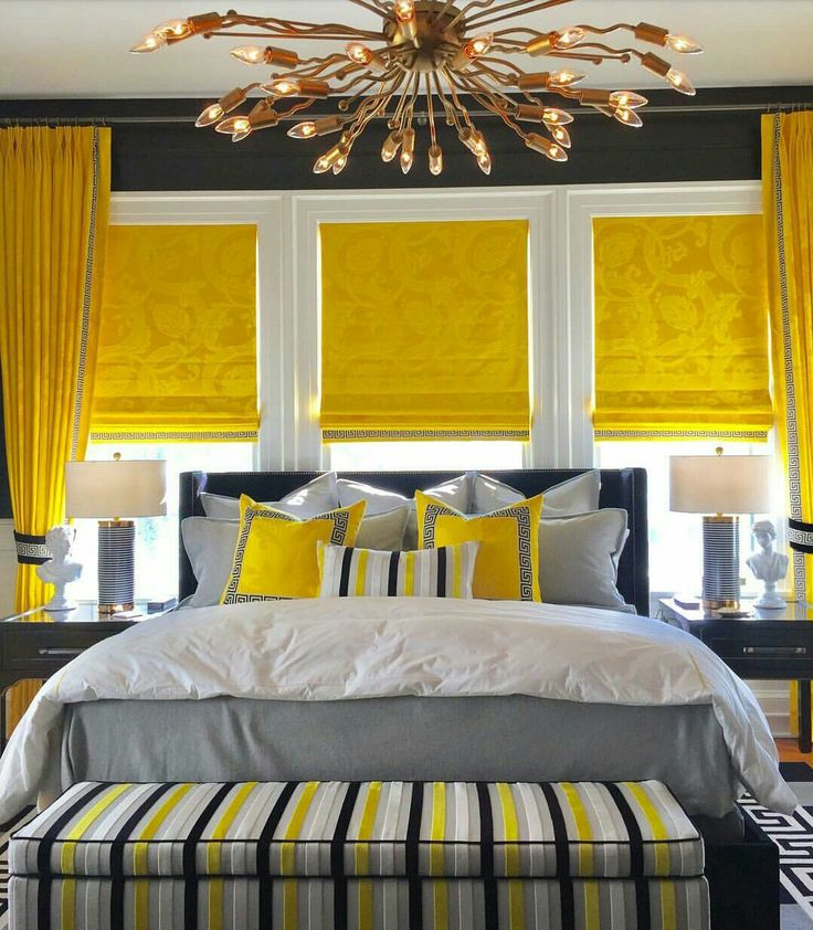 Pin by mommyQueen on Yellow Restful bedrooms, Interior