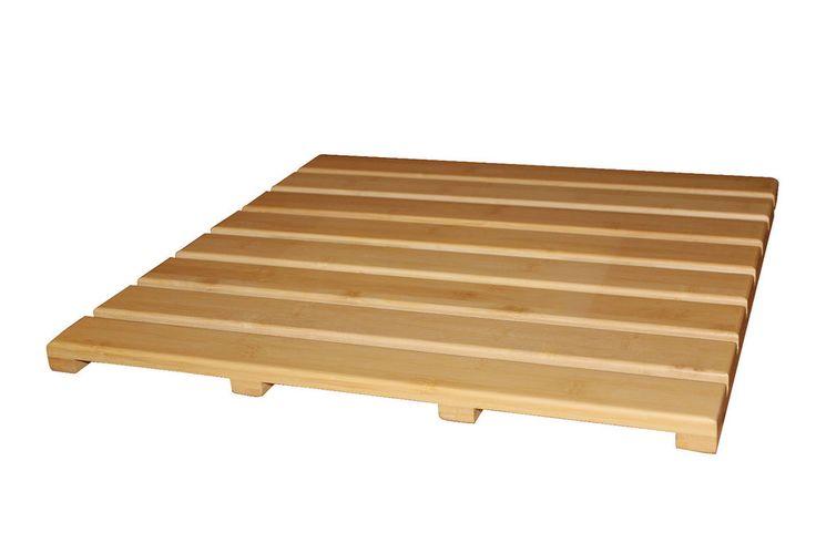 Vorlegerost, Ridder, Holz, Sauna, Bad, Möbel, Grating, Bambus, 52 x 52 cm in Möbel & Wohnen, Badzubehör & -textilien, Vorleger & Matten | eBay!