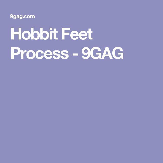 Hobbit Feet Process - 9GAG