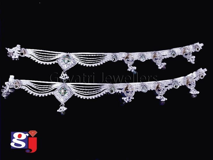 Indian traditional wedding jewellery , fancy Payal, Dulhan Payal !