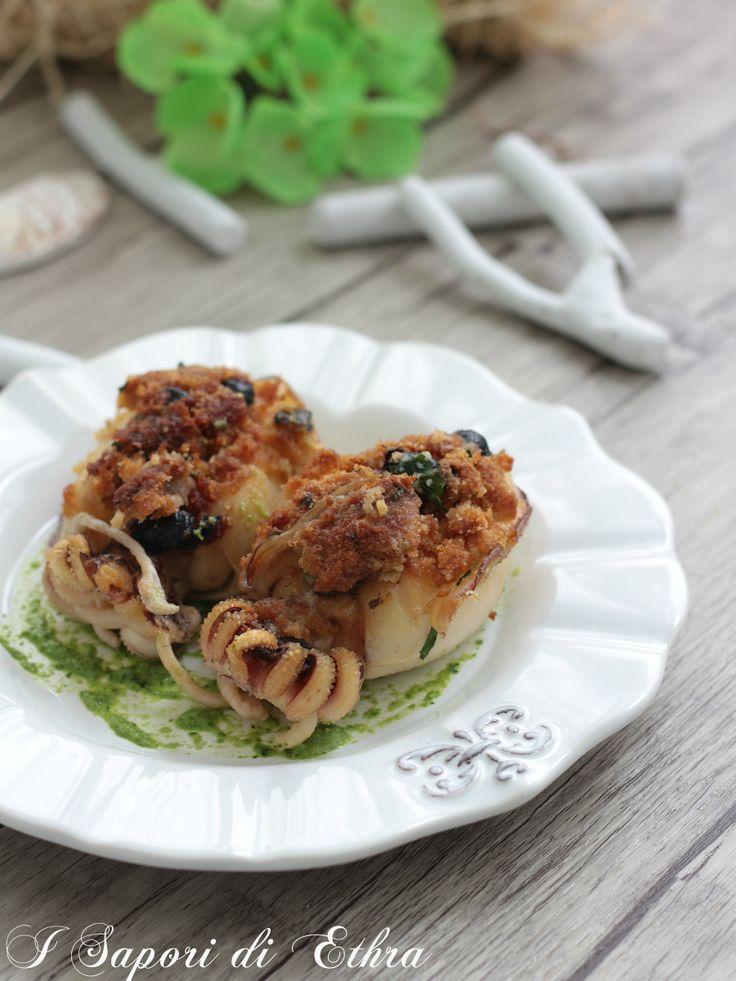 Seppie al forno ripiene ricetta tarantina
