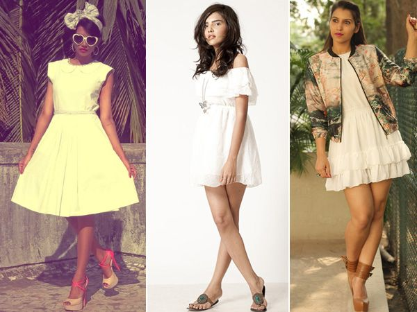 Nothing says summer like sun-kissed skin against a gauzy white dress. It's the go-to staple that's as fit for a cocktail party as it is for a weekend at the beach. The LWD really captures the spirit of the season and are versatile like blank canvasses. Whether you're looking for a casual version that's a step up from your basic white tee, or something a bit more festive (cutouts, anyone?), there's a clean-and-crisp offering out there for you. Our bloggers show how they style their ...