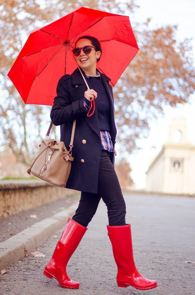 Qué look ponerte para un día de lluvia