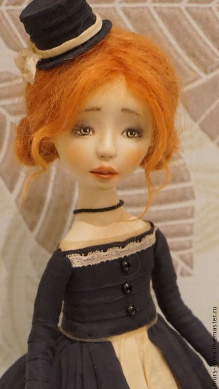 Купить Кукла интерьерная авторская Аурелия. - кукла ручной работы, кукла в подарок, единственный экземпляр