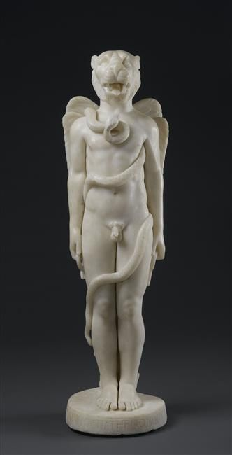 Kronos mithriaque, provient du Mithraeum de Sidon