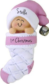 18 best CHRISTMAS BABIES FIRST ORNAMENT images on Pinterest ...