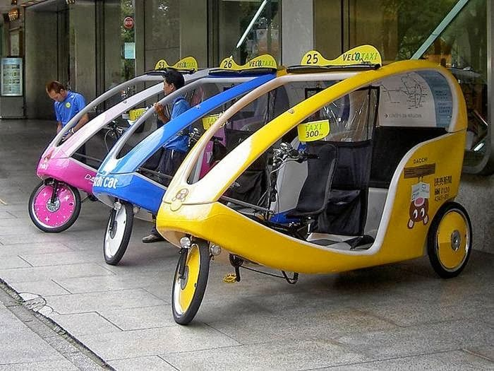 diffrent taxis around the world - Bing images