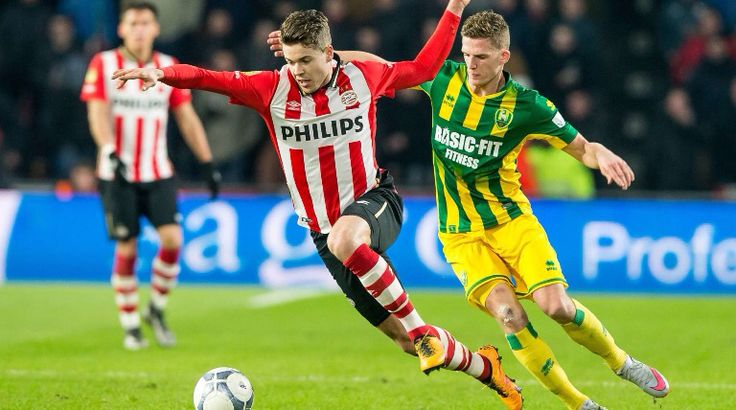 Marco van Ginkel speelde een goede wedstrijd tegen ADO Den Haag.