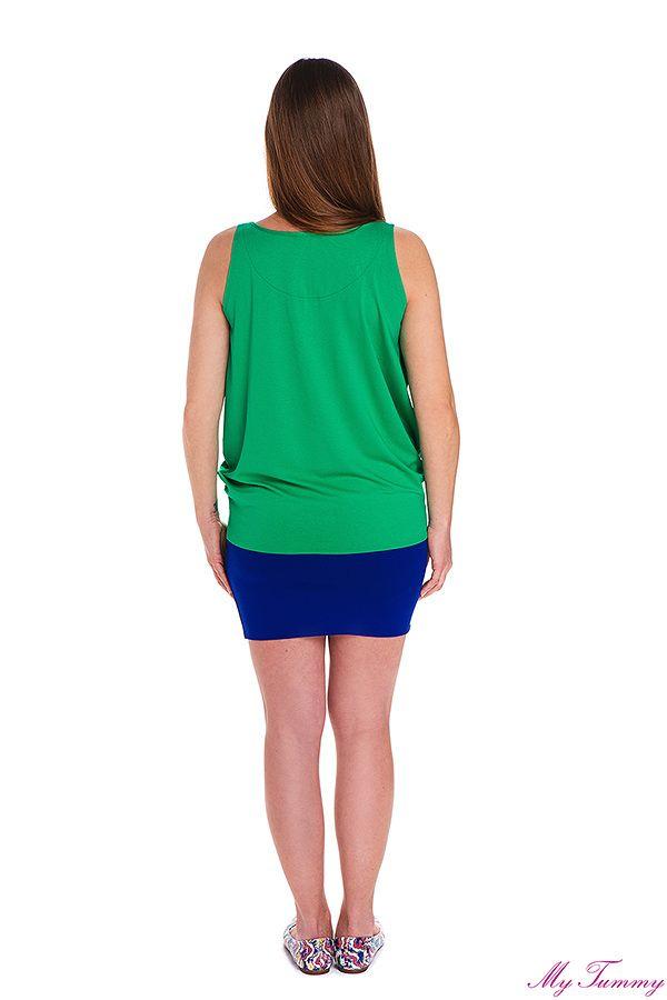 Tunika ciążowa Roxy zielona