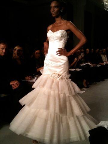 NYC Bridal Market: Platinum for Priscilla of Boston (1)  #wedding #dresses