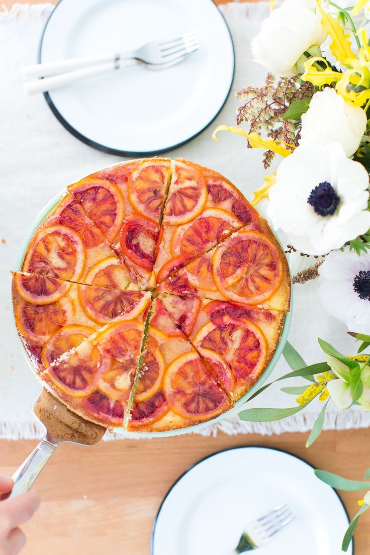 The perfect sunny cake for your spring gathering