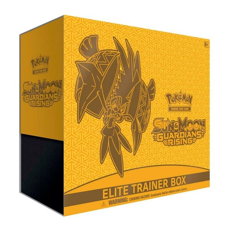 Pokemon TCG Sun & Moon-Guardians Rising Elite Trainer Box Card Game