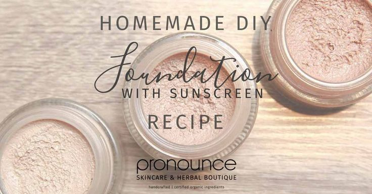 I believe I've created the most perfect, healthy, non-toxic, organic, effective, smooth finish DIY organic foundation makeup...& it contains sunscreen!
