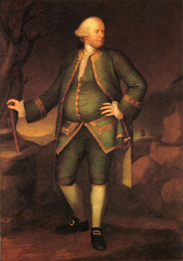 Pascal Paoli, 1768 by Henry Benbridge - oil on canvas. This painting is located at the deYoung Fine Arts Museum in San Francisco, California.