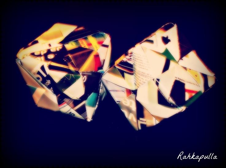 Day 30 creation: Paper Blocks - @createstuff #30DoC: Creative Calendar, Calendar 2012