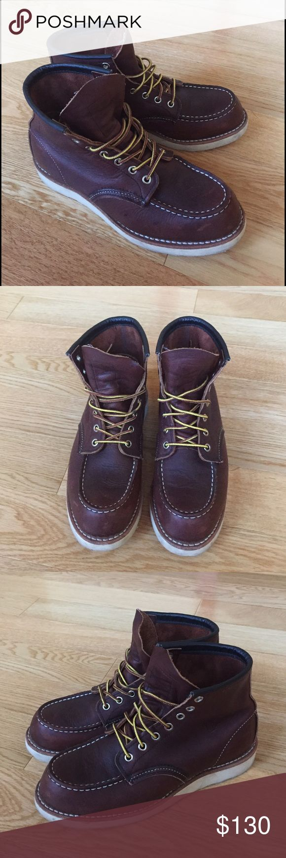 Red Wing Heritage Boots Red Wing Heritage boots// Mens size 6.5// Classic Moc style 8318// Very good condition Red Wing Shoes Shoes Boots