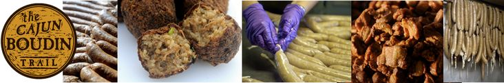 The Cajun Boudin Trail offers a guide to boudin manufacturers and restaurants serving boudin in and around Lafayette.