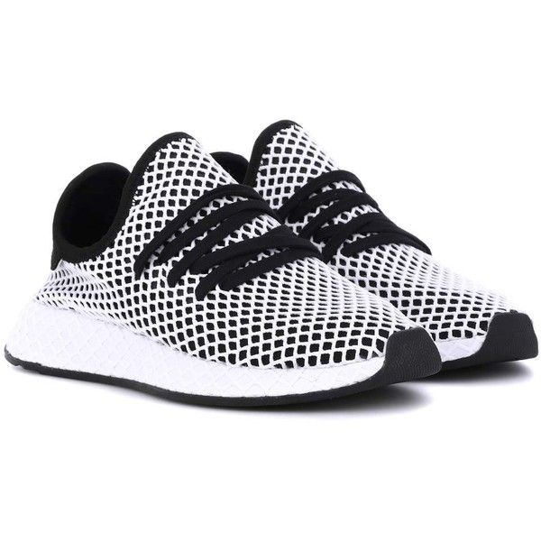 Adidas Originals Deerupt Runner Sneakers ($136) ❤ liked on Polyvore  featuring shoes, sneakers
