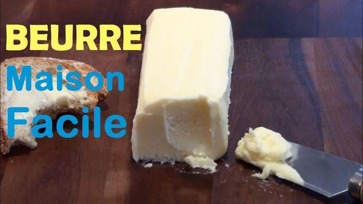 Recette BEURRE Maison Facile - Astuce cuisine. YOUTUBE: KateHacks. FACEBOOK: @katehacks