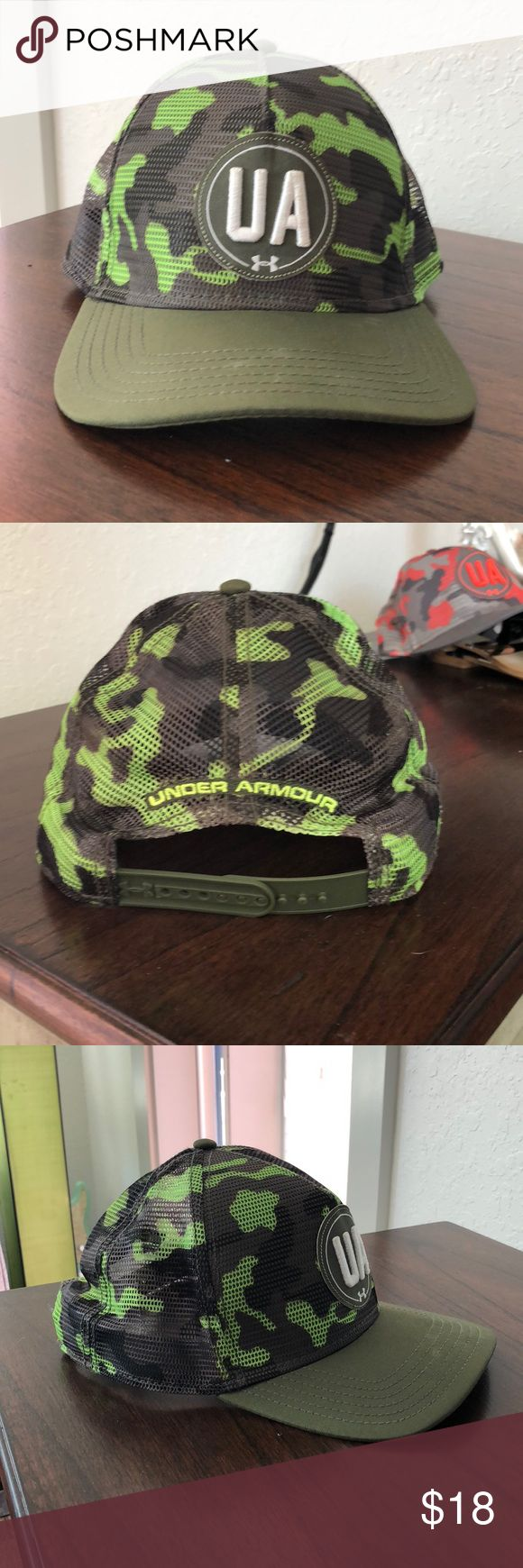 Under Armour Green Camo SnapBack Hat Under Armour Green Camo SnapBack Hat Under Armour Accessories Hats