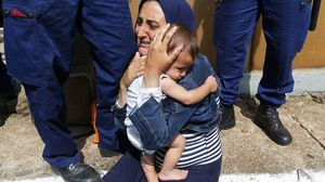Refugiados sirios.