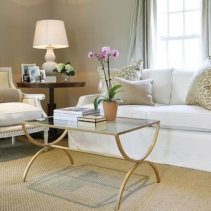 Ashley Goforth Design Interiors II Pinterest Brass Coffee Table